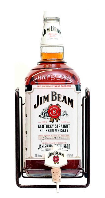 Jim Beam 4 år + ställning