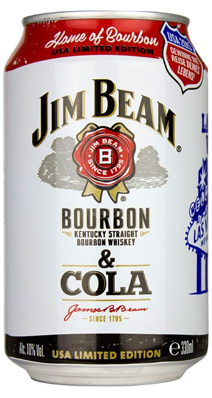 Jim Beam + Cola