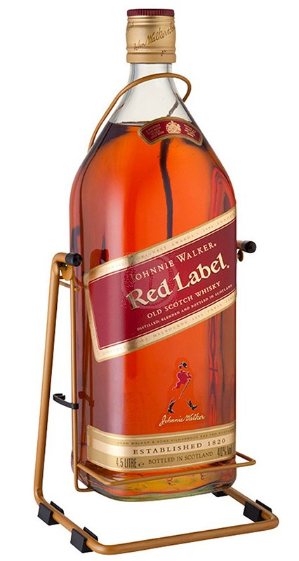 Johnnie Walker Red Label Whiskey 4,5 Liter