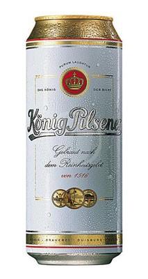 König Pilsener Burk 50 cl
