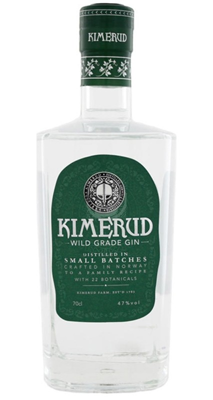 Kimerud Wild Grade Gin (green label)