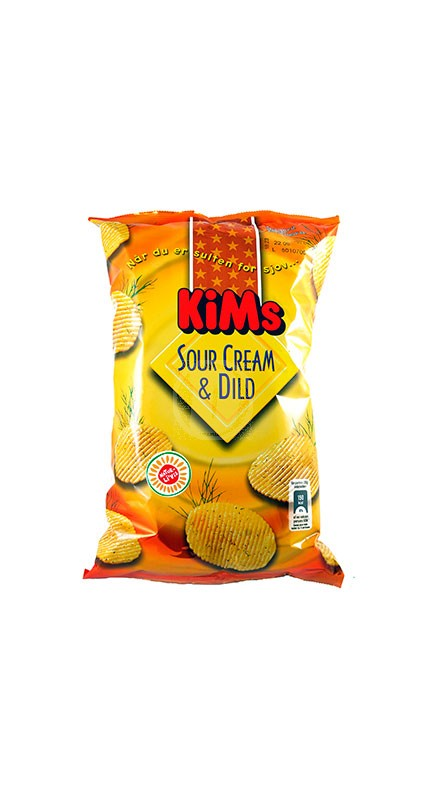 Kims Chips Sour Cream & Dild
