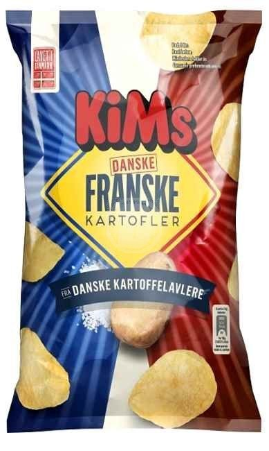 Kims Chips Franke Kartofler