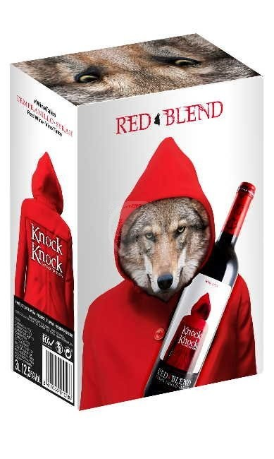 Knock Knock Red Blend 3l