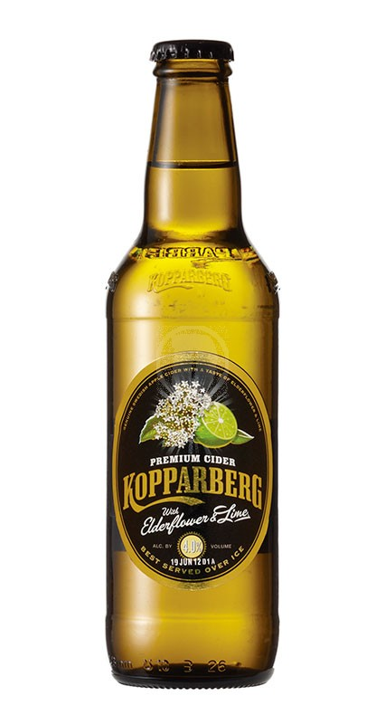 Kopparberg Elderflower and Lime