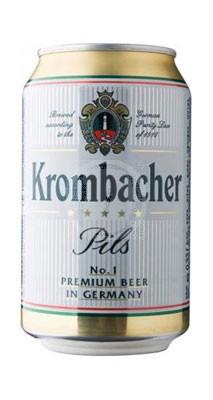 Krombacher Pils burk 33 cl