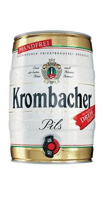 Krombacher Pils Party Fass