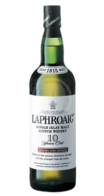 Laphroaig 10 år Cask Strenght