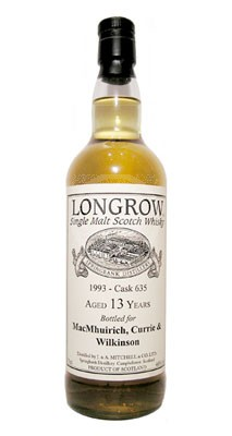 Longrow 1993 flaska