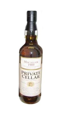 Macallan 1989 Private Cellar flaska