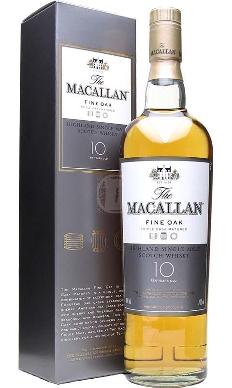 Macallan Fine Oak 10Y