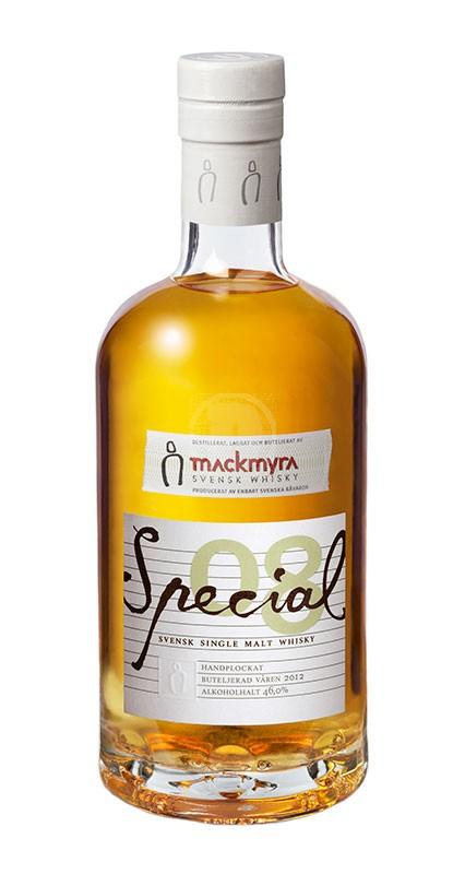 Mackmyra Special 08 Handplocka