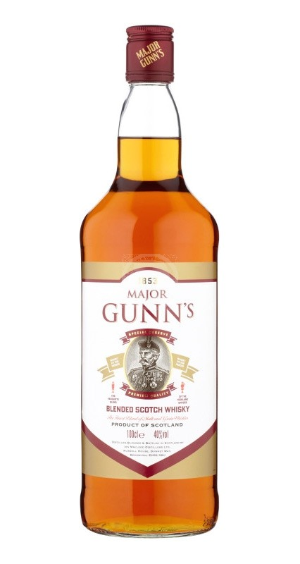 Major Gunns Blended Scotch