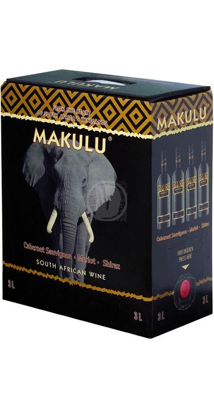 Makulu Shiraz Merlot Cabernet Sauvignon 3 Liter