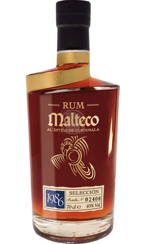 Malteco Seleccion 1986 Wooden Box