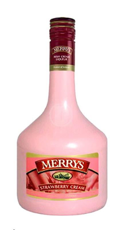 Merrys Strawberry Cream