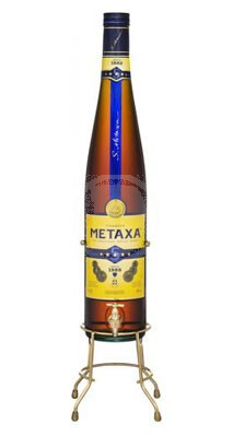 Metaxa *5, 3 liter + presentbox