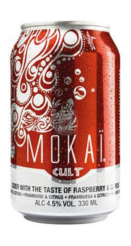 Mokai Cult Raspberry & Citrus