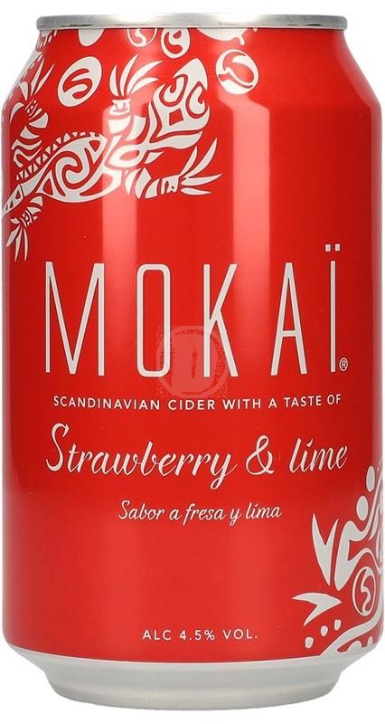 Mokai Strawberry& lime