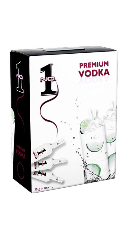 No.1 Vodka BIB 3 liter
