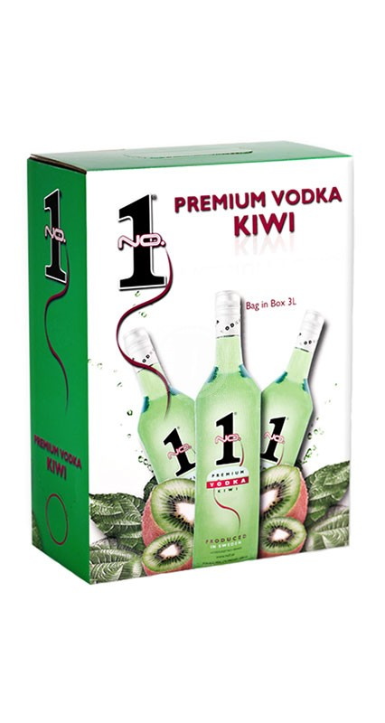 No.1 Vodka Kiwi 3 liter