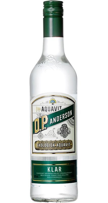 O.P. Anderson Klar Ekologisk Aquavit