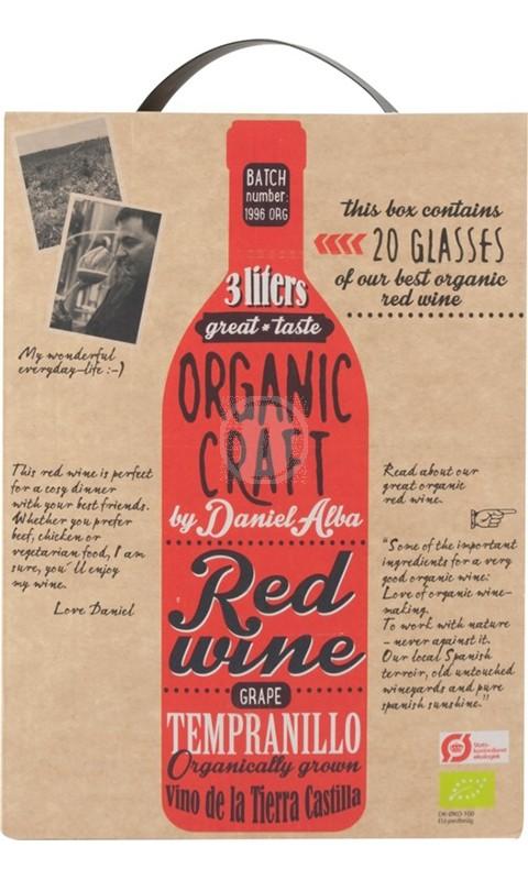 Organic Craft Red