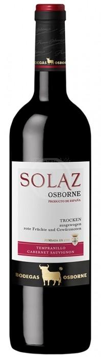 Osborne Solaz Tempranillo - Cabernet Sauvignon