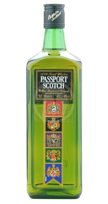 Passport Scotch flaska