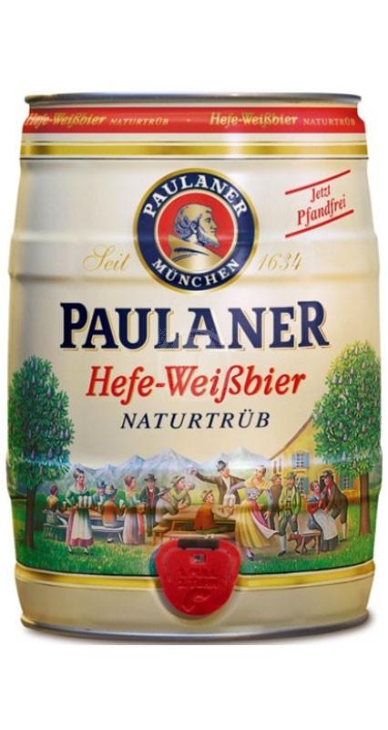 Paulaner Hefe-Weissbier 5 liter