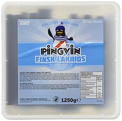 Pingvin Finsk Lakrits Stång
