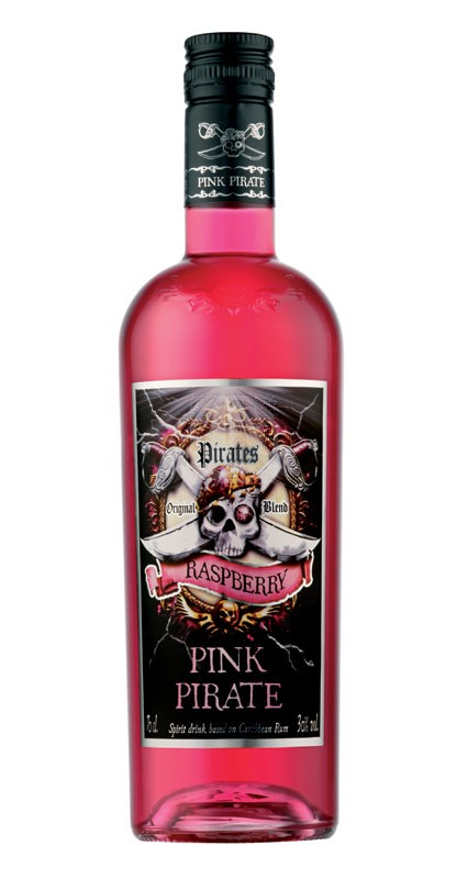 Pirates Pink Crystal Rum