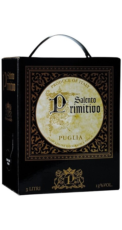 Primitivo Salento 3 liter