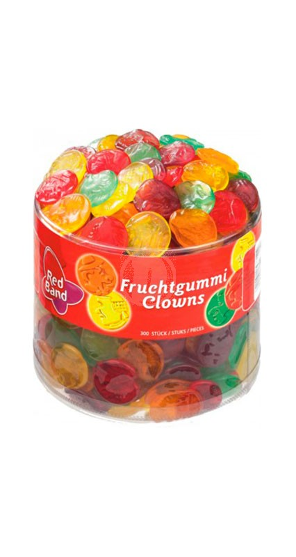Red Band Fruchtgummi Clown