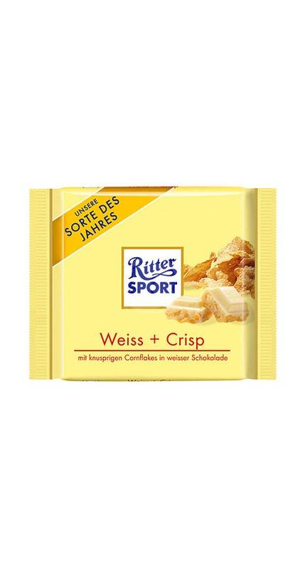 Ritter Sport Weiss + Crisp