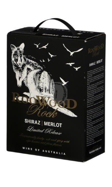 Roowood Rock Shiraz Merlot 3l