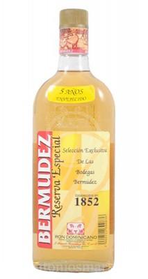 Rum Bermúdez 5 Años Reserva Especial 70Cl