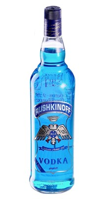 Rushkinoff Vodka Blue