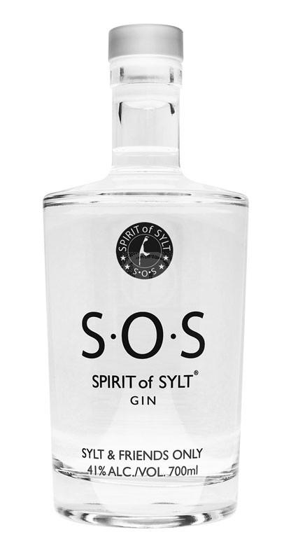 S O S Spirits of Sylt  Premium Gin