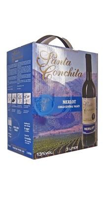 Santa Conchita Merlot 3 Liter