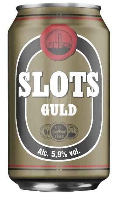Slots Guld 33 cl