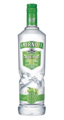 Smirnoff Green Apple Twist Vodka 1 liter