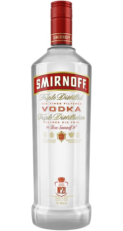 Smirnoff No. 21 Vodka 1 liter