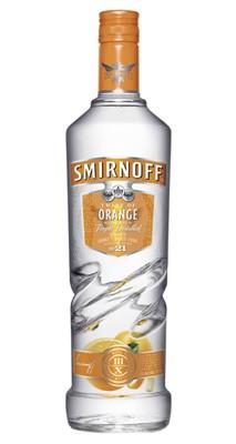 Smirnoff Orange Twist vodka 1 liter