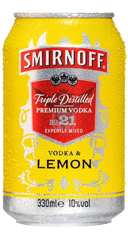 Smirnoff Vodka & Lemon