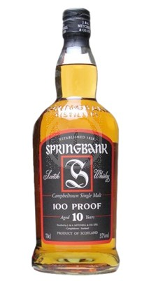 Springbank 10 år 100 proof