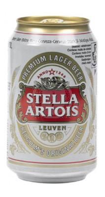 Stella Artois Premium Lager Öl