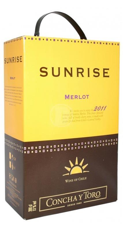 Sunrise Merlot 3 liter