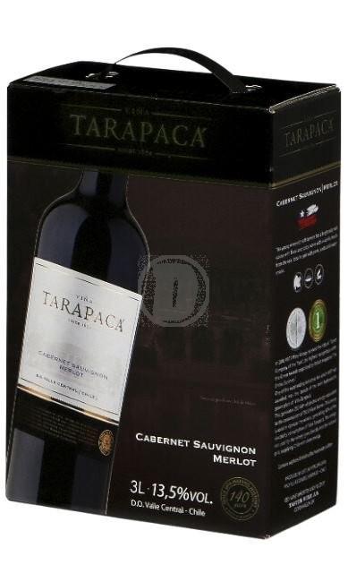 TarapacaCabernetMerlot3l