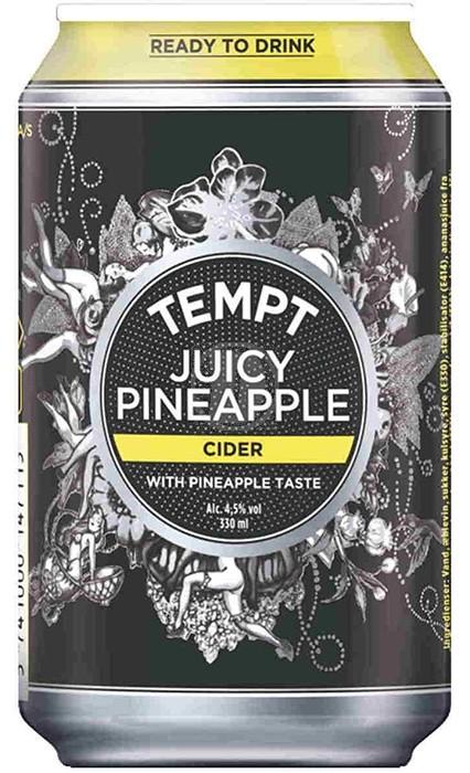 Tempt Juicy Pineapple Cider